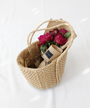 wood basket BAG